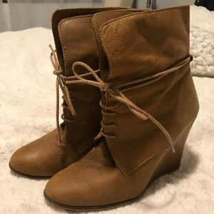 Zara Wedge Boots